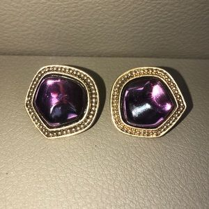 Saint Laurent exclusive vintage earrings